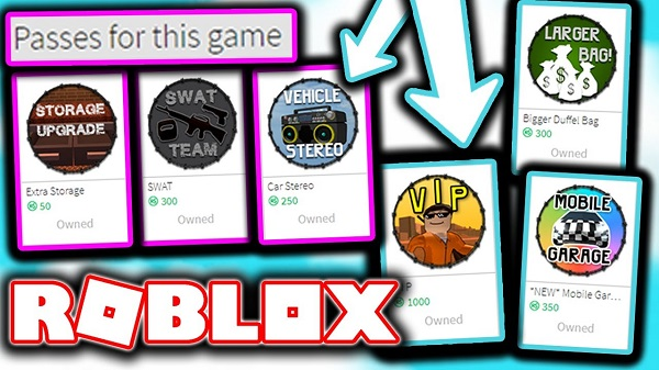 roblox game pass