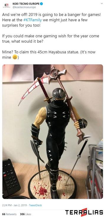 Ninja Gaiden 4 Tweet