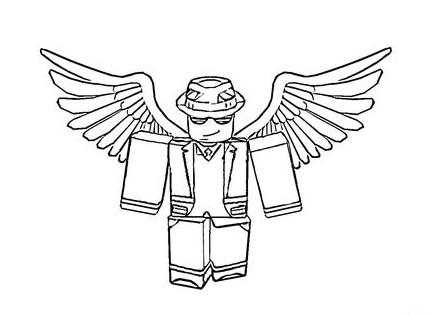 Roblox Logo Para Colorear