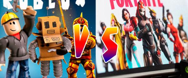 Roblox vs Fortnite cual es el mejor juego