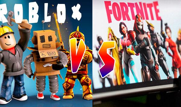 roblox-vs-fortnite cual es el mejor juego